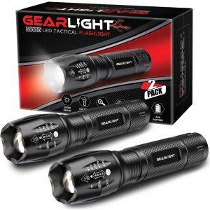 GearLight LED Tactical Flashlight S1000 Best Tactical Flashlight