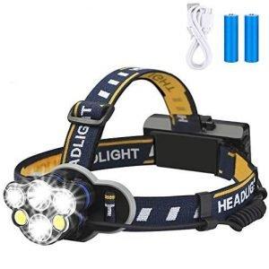Elmchee 6 LED Headlamp