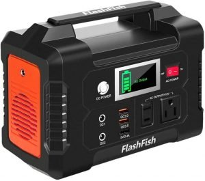 FlashFish 200W Portable Power Station Solar Generator