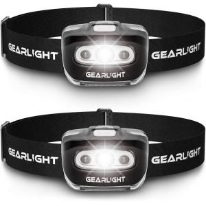 GearLight LED Headlamp Flashlight Best Survival Tools