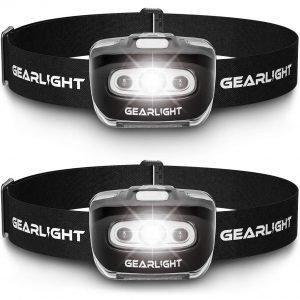 GearLight LED Headlamp Flashlight S500 Best Tactical Headlamps