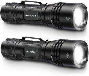GearLight Tac LED Tactical Flashlight