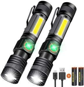 Hoxida USB Rechargeable Flashlight