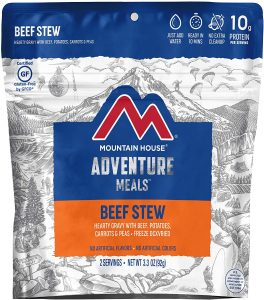 Mountain House Beef Stew - Freeze Dried Emergency Food