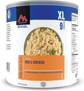 Mountain House Rice & Chicken - Freeze Dried Emergency Food