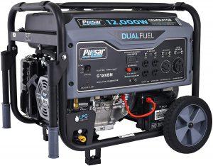 Pulsar G12KBN Heavy Duty Portable Generator