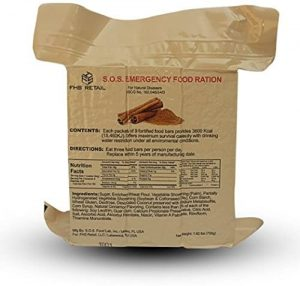 S.O.S. Rations Emergency 3600 Calorie Food Bar