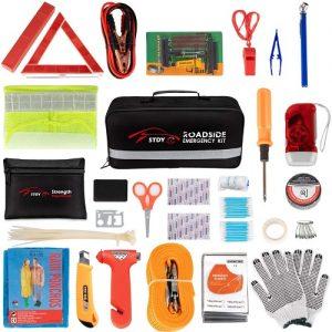Stdy Car Roadside Emergency Kit