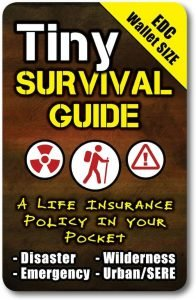 Tiny Survival Guide A Life Insurance Policy In Your Pocket