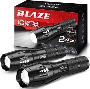 Vont 'Blaze' Tactical Flashlight Set