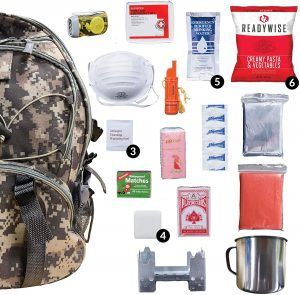 Wise 5-Day Emergency Survival Backpack