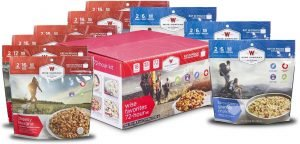 Wise Foods Company Camping Favorites Freeze Dried Food Kit