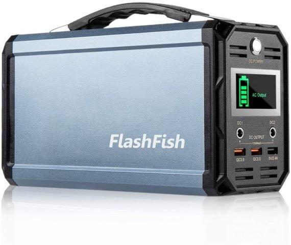 FlashFish 300W Solar Generator