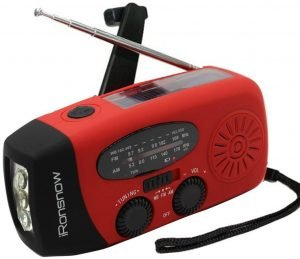 iRonsnow Solar Powered Emergency Radio
