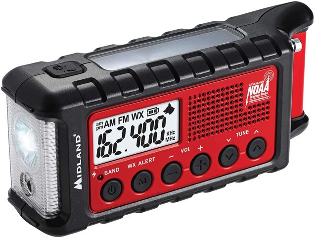Midland - ER310, Emergency Crank Weather AM/FM Radio