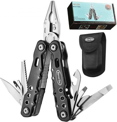 RoverTac Multitool Pocket Knife Camping Tool