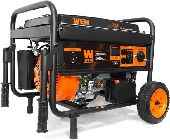 Wen 56475 4750-Watt Portable Generator