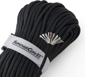 1,000 LB SurvivorCord XT | 100 FEET | Patented Military Type IV 750 Paracord